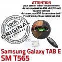 Samsung Galaxy TAB E SM-T565 USB inch de Dorés SM Micro Prise à Dock Chargeur Connector Pins souder 9 ORIGINAL Connecteur charge T565