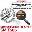 Samsung Galaxy Tab A T585 USB Dock Micro Dorés charge inch à ORIGINAL de SM TAB Pins 10.1 Connector souder Chargeur Prise Connecteur