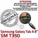 Samsung Galaxy Tab-A SM-T350 USB Connector Qualité TAB-A Fiche souder Prise SLOT Pins de Dorés à MicroUSB Dock charge Chargeur ORIGINAL