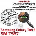 Samsung Galaxy TAB E SM-T567 USB Micro Connector 9 SM souder charge Dorés inch Dock Connecteur T567 Prise à Pins de Chargeur ORIGINAL