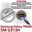 TREND S DUOS SM-G313H USB Charge SM Samsung Qualité souder G313H Micro Chargeur Galaxy Connecteur à charge Pins de Connector Prise ORIGINAL Dorés