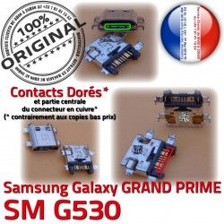 MicroUSB de charge Samsung Pins Dock Micro souder Fiche Prise SM-G530 SM Galaxy Qualité Chargeur USB G530 ORIGINAL Connector à Dorés PRIME GRAND