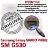 GRAND PRIME SM G530 Micro USB Galaxy Qualité Pins Dock Connector Chargeur Prise ORIGINAL Dorés Samsung souder SM-G530 Fiche charge à de MicroUSB