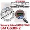 GRAND PRIME SM-G530FZ USB Charge Connecteur G530FZ Prise Qualité Galaxy charge ORIGINAL SM souder Connector de Chargeur Samsung Micro Doré à