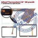 Galaxy SM-T531 Tab4 Blanche Prémonté Complète Verre Écran Blanc Samsung Qualité Vitre TAB4 Supérieure PREMIUM Complet Adhésif Tactile