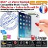 Film Protecteur Apple iPad A1954 Vitre ESR Ecran Anti-Rayures Bleue AIR Filtre Trempé Chocs Verre Incassable Lumière Protection
