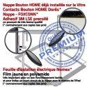 PACK iPad AIR A1954 B Bouton Qualité Vitre Nappe Verre Precollé Réparation Blanche HOME KIT Outils PREMIUM Oléophobe Tactile Adhésif