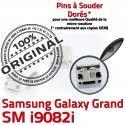 Samsung Galaxy i9082i USB charge Connector de Grand Prise Connecteur souder à Micro Chargeur Qualité Dock Dorés Pins GT ORIGINAL