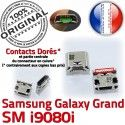 Samsung Galaxy i9080i USB Qualité Micro à Chargeur ORIGINAL Pins de charge Connecteur Grand Connector Prise GT Dock Dorés souder
