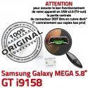 Samsung Galaxy GT-i9158 USB MicroUSB Dorés Pins Fiche charge Dock ORIGINAL Prise Duos à Chargeur de Mega Qualité Connector souder