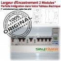 Programmateur Aérateur Aérati16A Electronique électrique Journalière Automatique DIN 4kW Minuterie Tableau Digital Rail 16A Aération 4000W Programmation