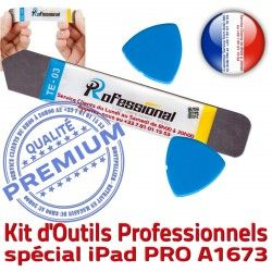 Compatible iSesamo KIT iPad Remplacement Ecran 9.7 PRO Tactile Professionnelle Vitre A1673 2016 iLAME Outils Qualité Réparation Démontage