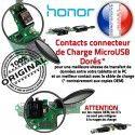 Honor 9X PRO JACK AUDIO Chargeur Téléphone Type-C ORIGINAL Micro Microphone Qualité Nappe Câble PORT Charge Antenne Casque USB Audio