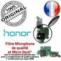 Honor 9X PRO Antenne SMA Charge OFFICIELLE Microphone Qualité ORIGINAL Téléphone Huawei C Connecteur Nappe Chargeur USB Prise