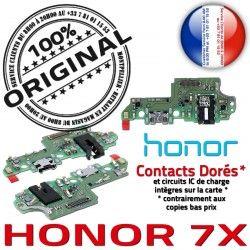Nappe Charge Chargeur JACK Connecteur 7X Prise Qualité OFFICIELLE RESEAU Micro de ORIGINAL Antenne Câble Honor Microphone USB