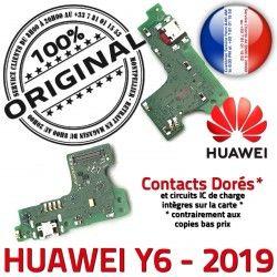 Huawei Prise USB GSM Charge ORIGINAL Micro Téléphone Nappe Qualité Microphone Chargeur Connecteur Y6 OFFICIELLE 2019 SMA Antenne