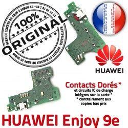 ORIGINAL Huawei USB Antenne Prise OFFICIELLE Téléphone SMA Qualité Connecteur Nappe Micro 9e Chargeur Microphone Enjoy Charge