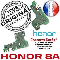 Micro Honor Branchement PORT Téléphone 8A Antenne OFFICIELLE Prise ORIGINAL Chargeur USB Câble Microphone Qualité Charge Nappe