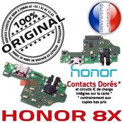 Micro Honor Antenne Téléphone Chargeur 8X Prise USB Nappe Huawei OFFICIELLE RESEAU Microphone Qualité Connecteur Charge ORIGINAL