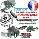 Honor 8X Branchement Antenne Chargeur Câble Charge PORT Microphone ORIGINAL OFFICIELLE USB Qualité Micro Téléphone Prise Nappe
