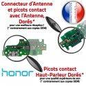 Honor 5X Branchement ORIGINAL Microphone PORT Câble Qualité Chargeur Charge Téléphone Prise USB OFFICIELLE Micro Nappe Antenne
