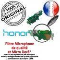 Honor 5X Branchement USB Chargeur Qualité PORT Téléphone Nappe Prise OFFICIELLE Micro Câble ORIGINAL Antenne Microphone Charge