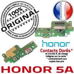 5A PORT Câble Microphone Haut-Parleur Charge Honor Qualité Nappe Chargeur ORIGINAL Antenne Contacts DOCK USB Téléphone JACK