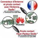 Huawei Y6 2018 Charge Rapide Antenne Qualité Câble Microphone RESEAU Chargeur Prise PORT Connecteur Micro ORIGINAL Nappe SMA USB