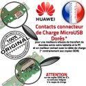 Huawei Y6-2 Antenne SMA USB PORT Prise ORIGINAL Connecteur Chargeur Microphone Charge Nappe Téléphone OFFICIELLE GSM Qualité