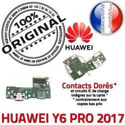 Chargeur PRO Qualité Microphone ORIGINAL Casque Câble JACK Micro Charge PORT Huawei Nappe de Y6 USB 2017 Antenne AUDIO Téléphone Audio