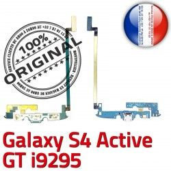 OFFICIELLE Nappe Samsung Charge Qualité GT C i9295 ORIGINAL S4 Galaxy Active Connecteur MicroUSB Microphone Prise Antenne Chargeur