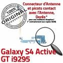 Samsung Galaxy S4 GT i9295 C Connecteur MicroUSB Microphone ORIGINAL Chargeur Charge OFFICIELLE Nappe Antenne Prise Active Qualité