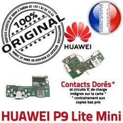 Câble Mini Micro ORIGINAL Téléphone Chargeur P9 Huawei PORT JACK Nappe Qualité Microphone Charge USB Antenne Branchement Lite de