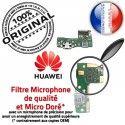 Huawei P9 Lite Mini JACK AUDIO Câble USB Casque de Chargeur Qualité ORIGINAL Audio Micro PORT Microphone Antenne DOCK Nappe SMA Charge