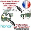 Honor 7A PRO USB Micro Prise Connecteur RESEAU Nappe JACK Microphone de MicroUSB Antenne Câble Charge OFFICIELLE Chargeur ORIGINAL Qualité