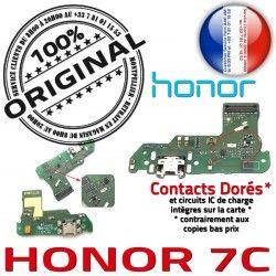 Qualité ORIGINAL OFFICIELLE 7C Nappe Charge Honor Prise Téléphone Microphone Antenne Chargeur Connecteur Huawei RESEAU PORT USB