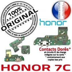Honor Microphone Huawei Charge Qualité ORIGINAL DOCK 7C RESEAU Nappe Téléphone OFFICIELLE Prise Chargeur Connecteur USB Antenne