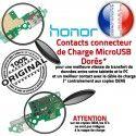 Honor 5C Microphone ORIGINAL Prise Qualité Connecteur Chargeur Charge USB Nappe Huawei OFFICIELLE Téléphone RESEAU Antenne DOCK