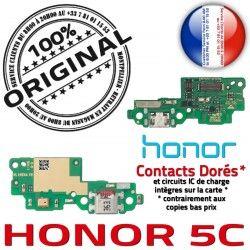 Qualité Connecteur OFFICIELLE Microphone Antenne Câble Micro Nappe Charge Chargeur Honor RESEAU 5C Rapide USB ORIGINAL Prise