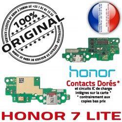LITE Chargeur Huawei Microphone Prise OFFICIELLE Qualité Nappe Connecteur Charge Antenne USB RESEAU 7 Téléphone ORIGINAL Honor
