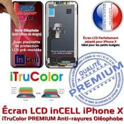 X Tone LG LCD Retina Écran Changer Oléophobe pouces In-CELL Qualité Vitre Affichage Apple PREMIUM iPhone SmartPhone HDR 5.8 Super True Verre inCELL