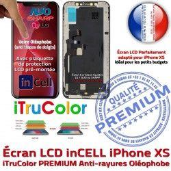 Liquides XS Cristaux Remplacement Apple inCELL PREMIUM iTrueColor in-CELL SmartPhone 3D Vitre Touch LCD Écran Multi-Touch Verre Changer iPhone