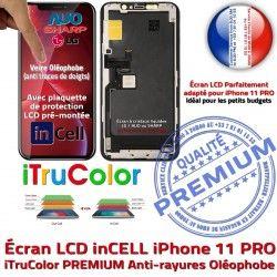 in Cristaux In-CELL Oléophobe HDR 11 Liquides Retina Vitre SmartPhone PRO iPhone 5,8 Remplacement LCD Touch Super Écran PREMIUM