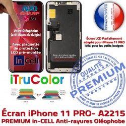 iTrueColor Remplacement SmartPhone inCELL Apple PREMIUM Ecran Écran Verre LCD A2215 3D Multi-Touch Cristaux iPhone Touch Liquides