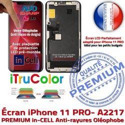In-CELL Vitre PREMIUM HDR pouces Apple Retina Oléophobe A2217 Changer iPhone Tone Super 5.8 SmartPhone True Écran LCD Affichage