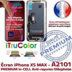 Tactile A2101 True Écran MAX inCELL Retina iPhone in Apple PREMIUM Cristaux Vitre Super XS 6,5 Tone SmartPhone Liquide Affichage