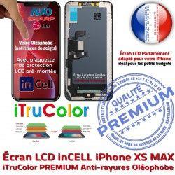 inCELL 6,5 iPhone Retina True SmartPhone PREMIUM Super Liquides Cristaux Tactile Affichage XS Tone MAX Vitre Apple Écran pouces