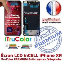Tactile SmartPhone pouces PREMIUM 6,1 Cristaux inCELL Super Tone iPhone Écran Vitre Retina True XR Liquides Apple Affichage
