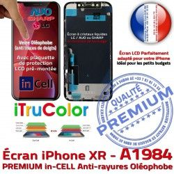 LCD Écran inCELL Multi-Touch 3D Cristaux Oléophobe A1984 SmartPhone Liquides Verre Apple Remplacement HDR iPhone Touch PREMIUM in-CELL