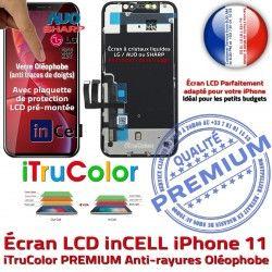 6,1 3D Cristaux True SmartPhone LCD iPhone inCELL PREMIUM pouces Écran Apple HD Tone Affichage Liquides Retina Super Vitre 11